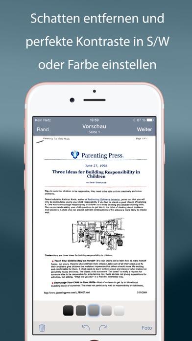 TurboScan™ Pro: Dokumenten- und Belegscanner Screenshot
