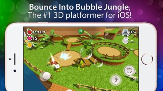 Bubble Jungle ® Pro - Super Chameleon Platformer World Screenshot