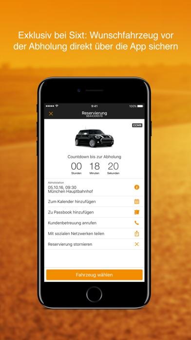 Sixt Autovermietung & Mietwagen Screenshot