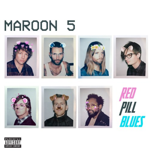 Maroon 5 - Adam Levine - Red Pill Blues (album cover) - Hit Channel