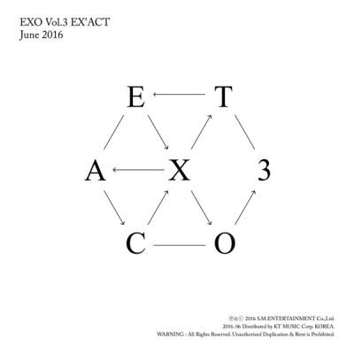 EXO - EX'ACT - The 3rd Album