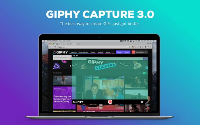 GIPHY Capture. The GIF Maker Screenshot