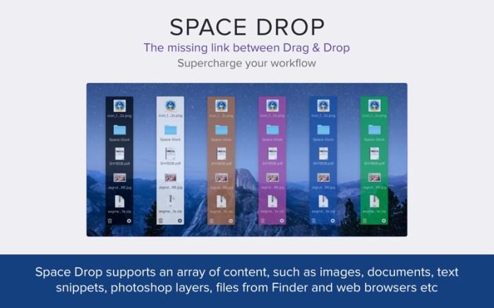 Space Drop: Better Drag & Drop Screenshot 04 1377vvn