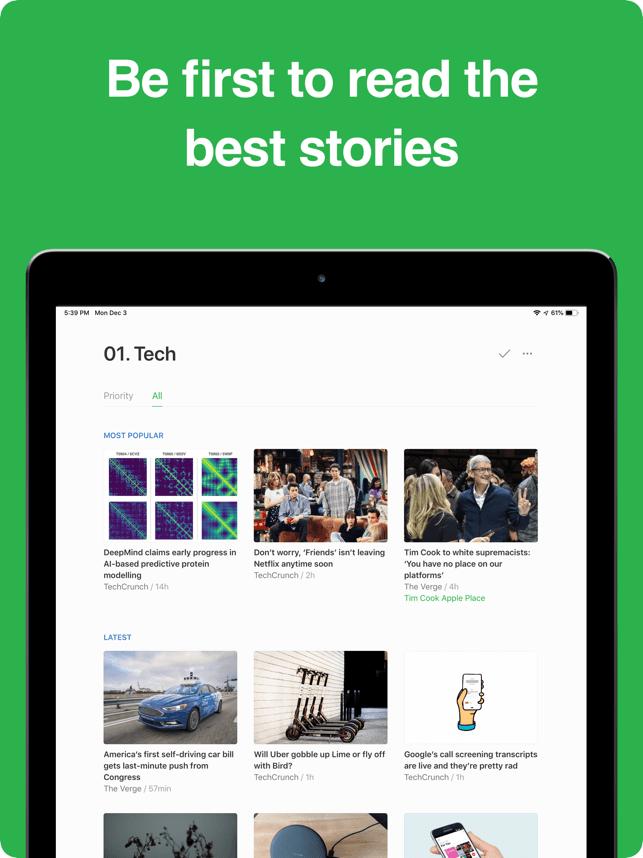 Feedly - Smart News Reader Screenshot