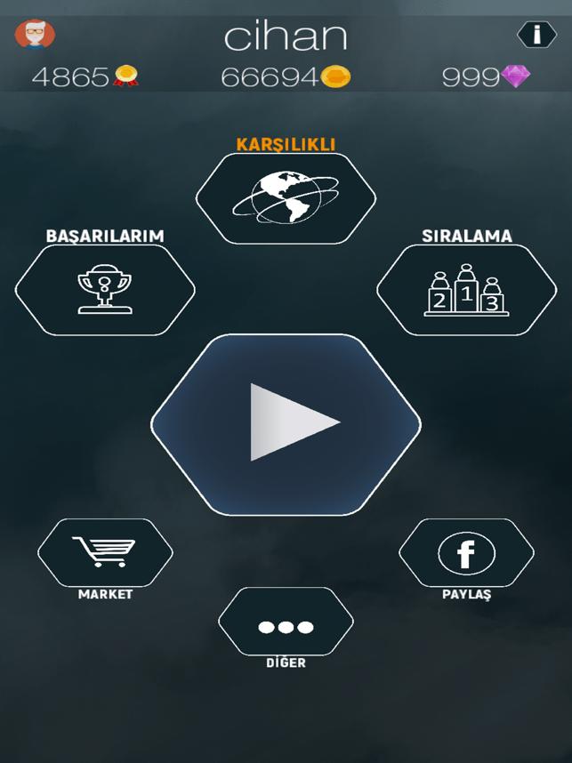 Çatlak Kelimeler-Türkçe Online Screenshot