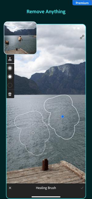 Adobe Lightroom Photo Editor Screenshot