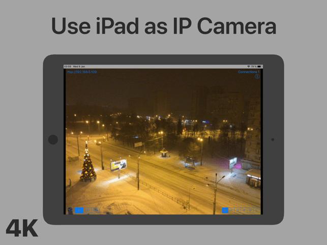 IP4K: Phone cam as IP Camera Screenshot