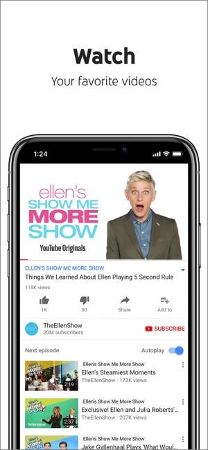YouTube: Watch, Listen, Stream Screenshot