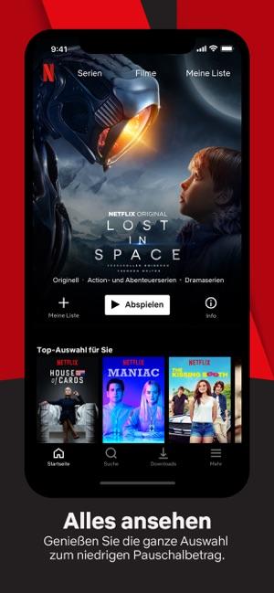 Netflix Capture d'écran
