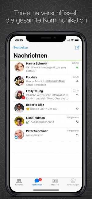 Threema Screenshot
