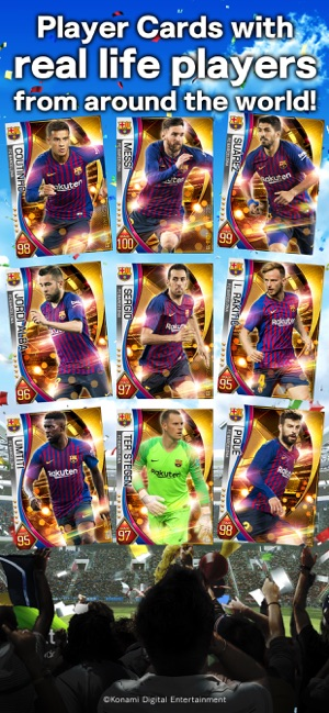 ‎PES CARD COLLECTION Screenshot