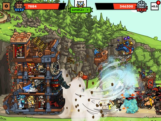 Towerlands - tower defence TD Screenshot