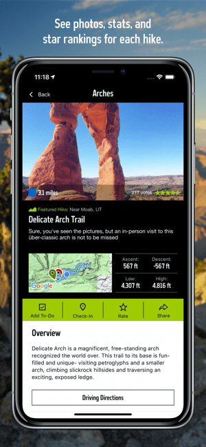 ‎National Park Trail Guide Screenshot