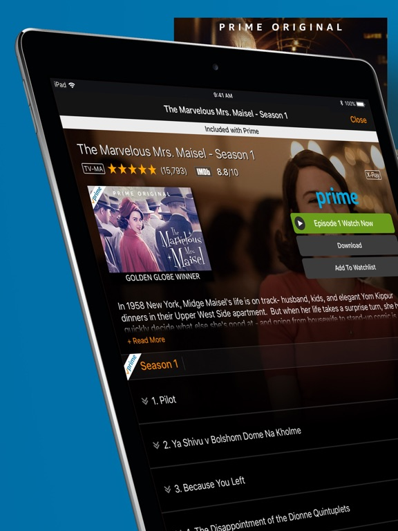 Cool App Update: Amazon Video for iPhone and iPad (download