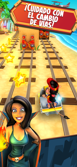Hugo Troll Race 2: Rail Rush Screenshot