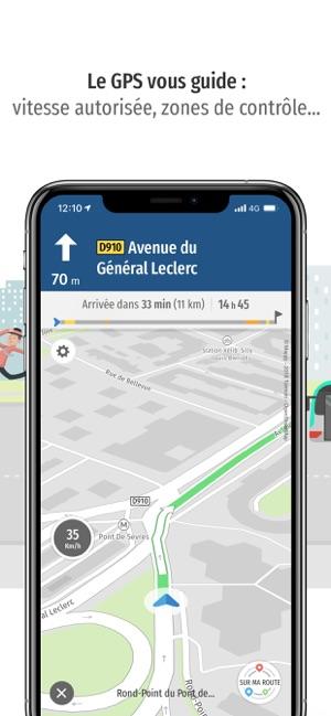 mappy plan itineraire gps im app store