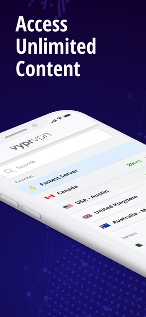 VPN: Private & Fast VyprVPN Screenshot