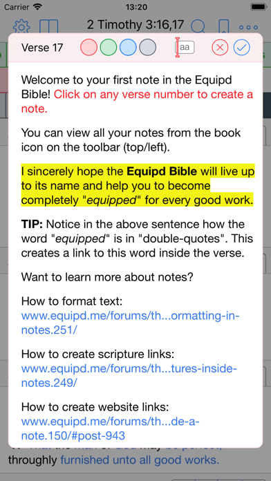 Equipd Bible – Study the Bible in multiple languages on iPhone and