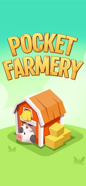 Pocket Farmery: Idle Pop Farm Screenshot