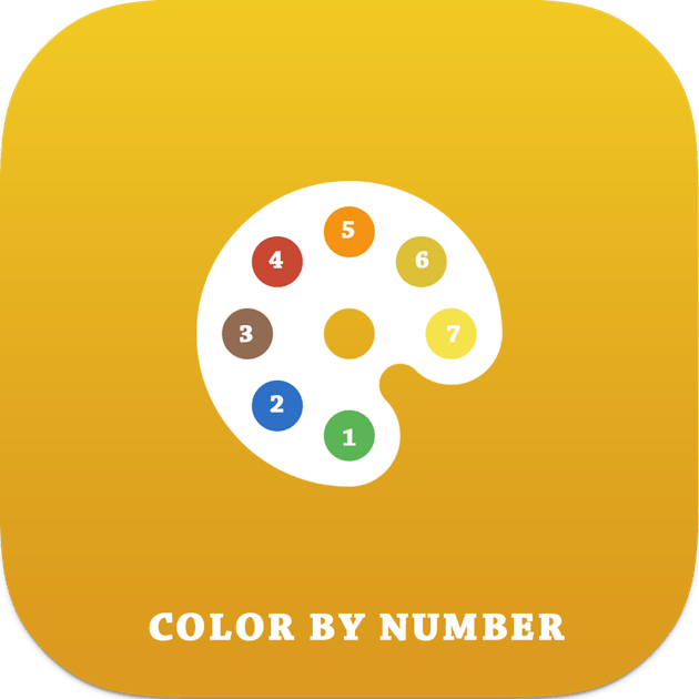 Color By Number For Adults On The Mac App Store