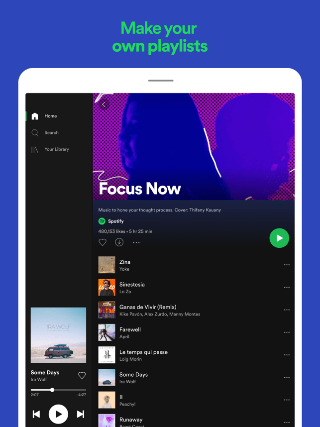Spotify: Music and podcasts Screenshot