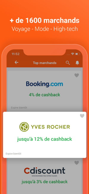 iGraal Cashback & codes promo Capture d'écran