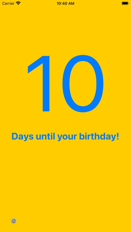 My Birthday Simple Countdown By Marton Varga