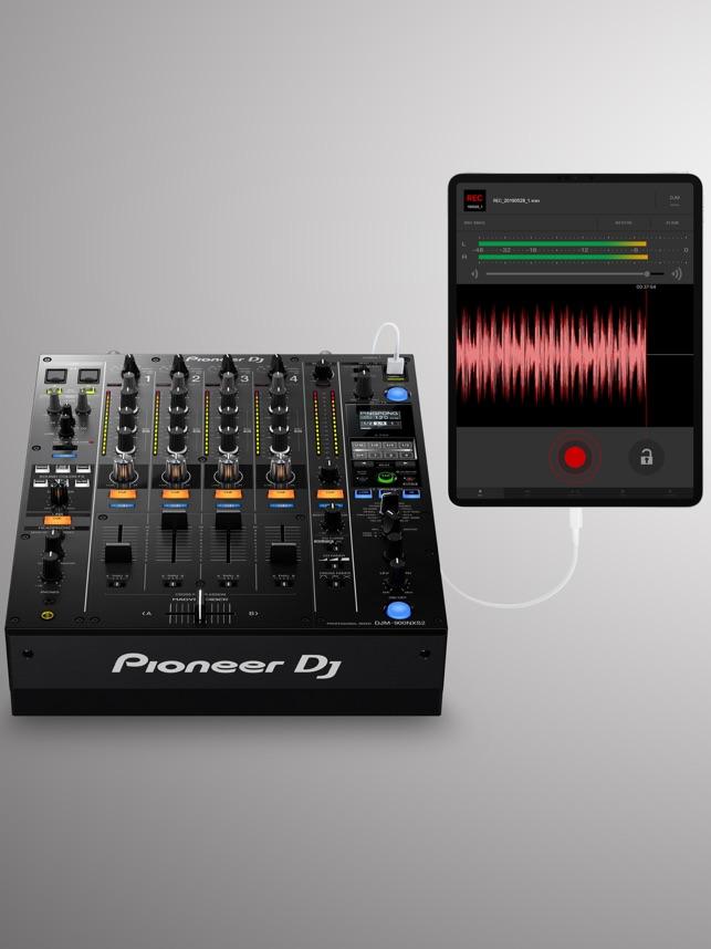 DJM-REC Screenshot