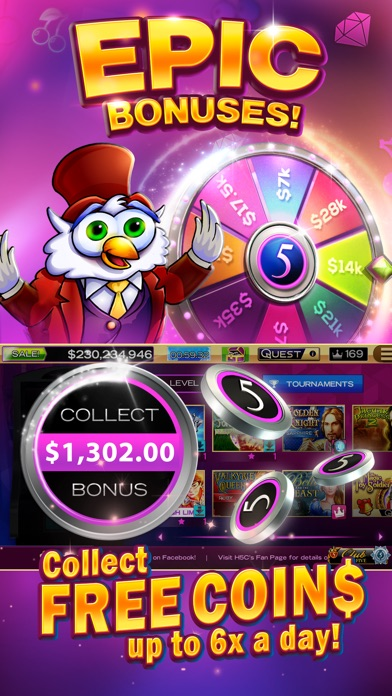 High 5 Casino: Virtual Slots! 3.20.1 IOS