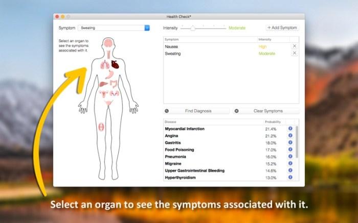 Health Check - Symptom Checker Screenshot 01 x36bkn