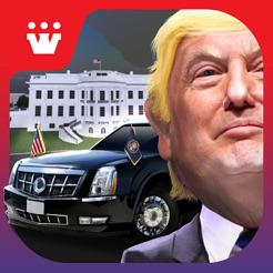 Driving Trump Car Simulator 3D