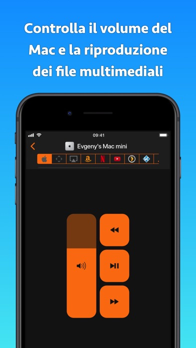 Telecomando per Mac iPhone