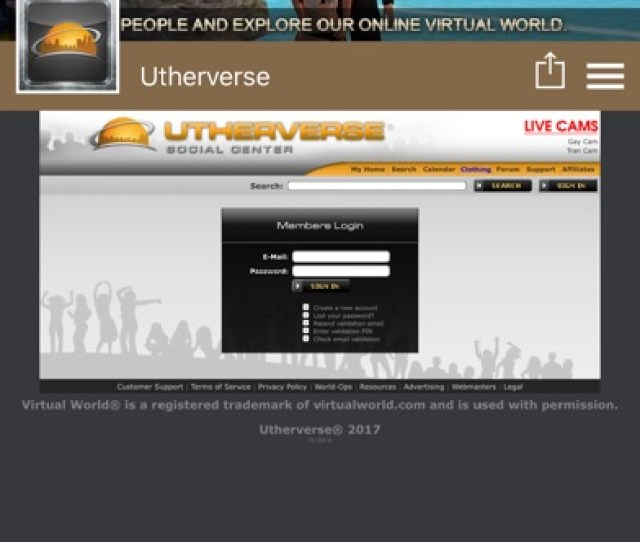 Screenshot 1 For Utherverse