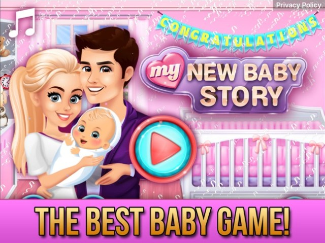 My New Baby Story Screenshot