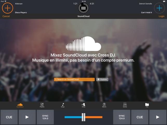 Cross DJ Pro Screenshot