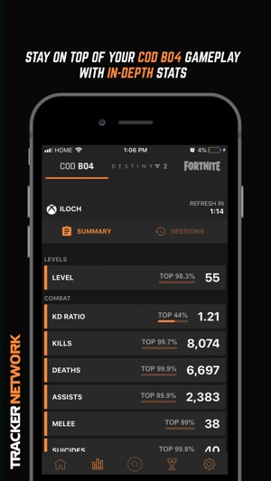 Tracker Network For COD BO4 On The App Store