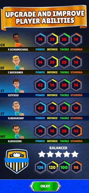 Kings of Soccer - PvP Football Screenshot