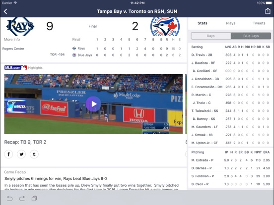 Yahoo Sports: Football & More Screenshot