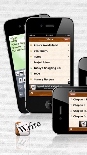 Write 2 Lite - Note Taking & Writing Screenshot