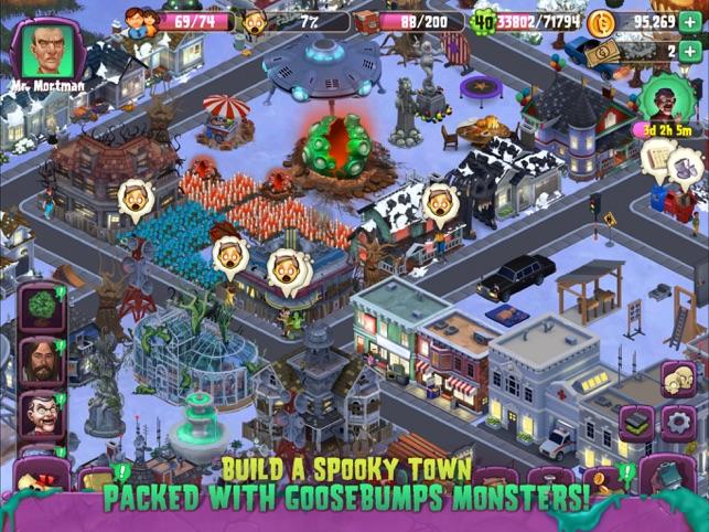 Goosebumps Horror Town Screenshot