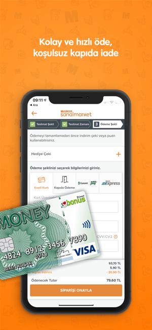 Migros Sanal Market Screenshot