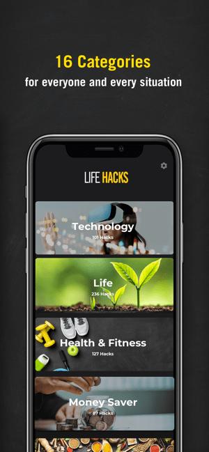 Life Hack Tips -Daily Tips Screenshot