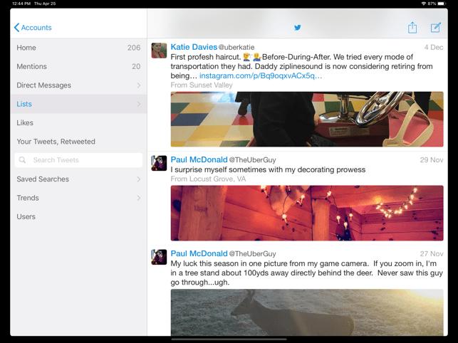 Echofon for Twitter Screenshot