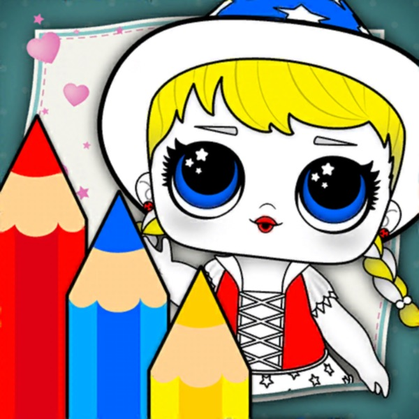 LOL Coloring Doll