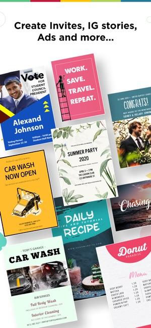 Poster Maker - Flyer Designer Screenshot
