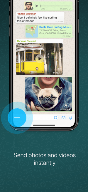 ‎WhatsApp Messenger Capture d'écran