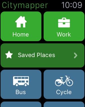 Citymapper Transit Navigation Screenshot