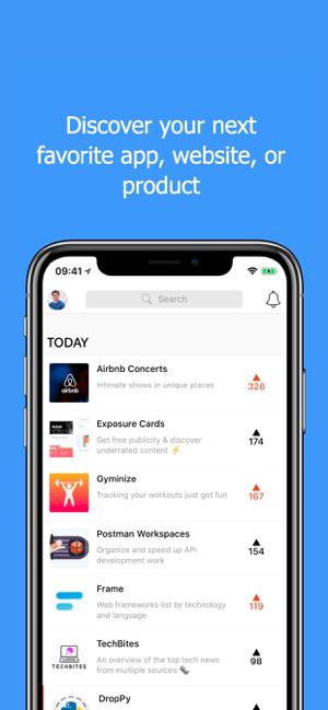 Product Hunt Screenshot