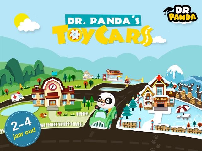 Dr. Panda Voertuigen Screenshot