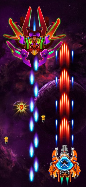 Galaxy Attack: Alien Shooter iOS Game Review - iOS Game Updates